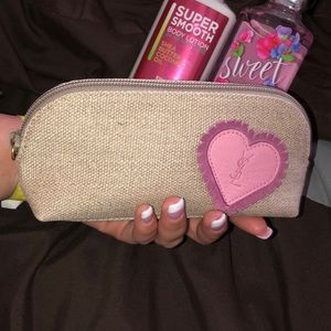 YSL  makeup pouch